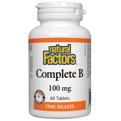 Natural Factors Complete B 100mg 60t