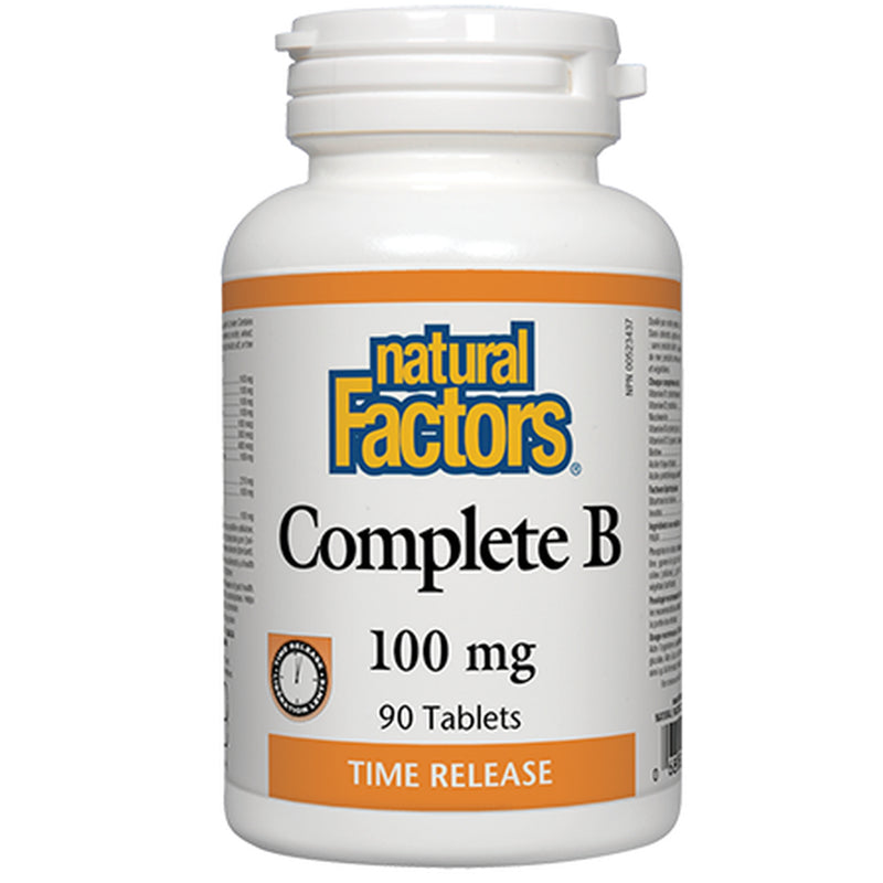 Natural Factors Complete B 100mg 90t