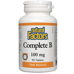 Natural Factors Complete B 100 mg 90 t