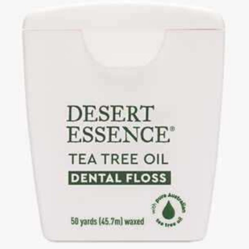 Desert Essence Tea Tree Oil Dental Floss 50 Yards