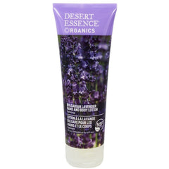 Desert Essence Bulgarian Lavender Hand & Body Lotion 237ml