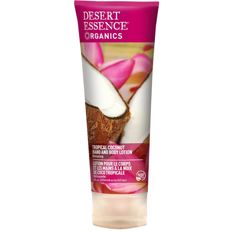 Desert Essence Tropical Coconut Hand & Body Lotion 237ml