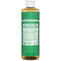 Dr.Bronner's 18-in-1 Almond Pure Castile Soap 473ml
