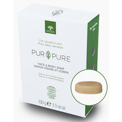 Druide Organic Pur & Pure Face & Body Soap 100g