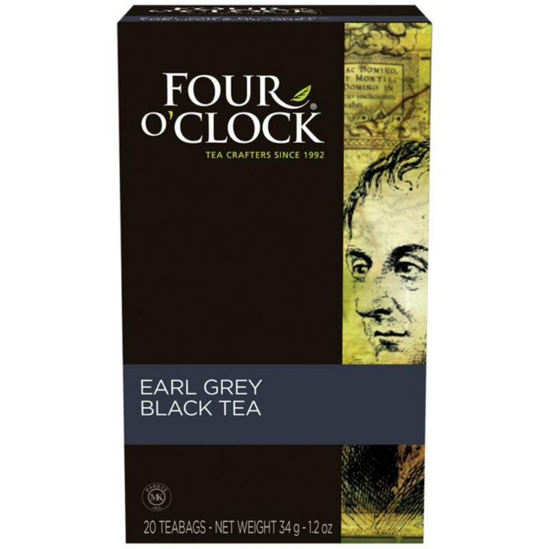 Four O'Clock Earl Grey 20 Tea Bags
