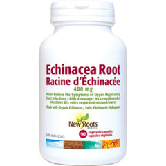 New Roots Echinacea Root 400mg 90vcaps