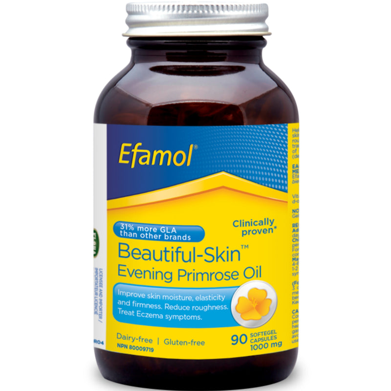 Efamol Beautiful Skin Evening Primrose Oil 1000mg 90 sgels