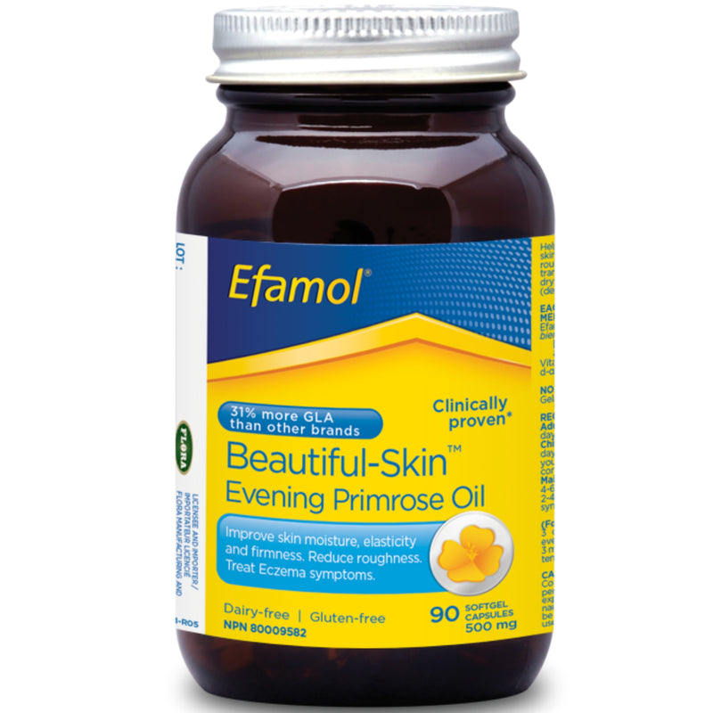 Efamol Beautiful Skin Evening Primrose Oil 500mg 90sgels