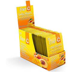 Ener-C 1000mg Vitamin C Peach Mango 30 Packets