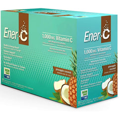 Ener-C 1000mg Vitamin C Pineapple Coconut 30 Packets