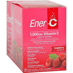 Ener-C 1000mg Vitamin C Raspberry 30 Packets