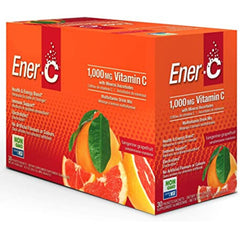 Ener-C 1000mg Vitamin C Tangerine Grapefruit 30 Packets