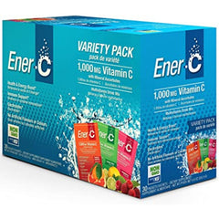 Ener-C 1000mg Vitamin C Variety Pack 30 Packets