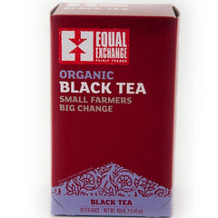 Equal Exchange Organic Black Tea 20 Tea Bags