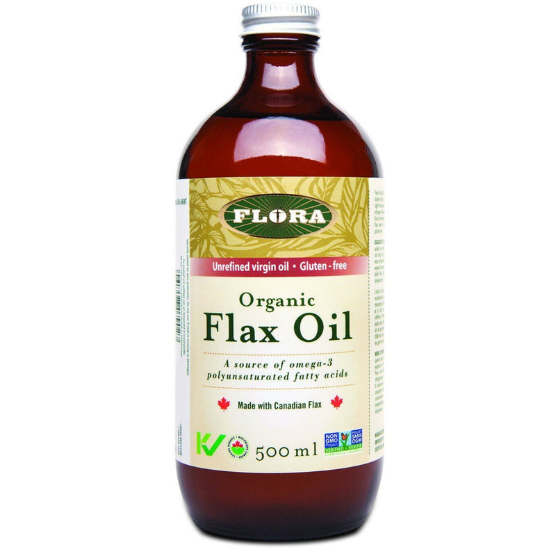 Flora Organic Flax Oil 500ml