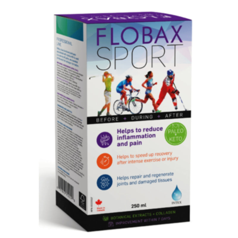 Flobax Sport Botanical Extracts & Collagen 250ml