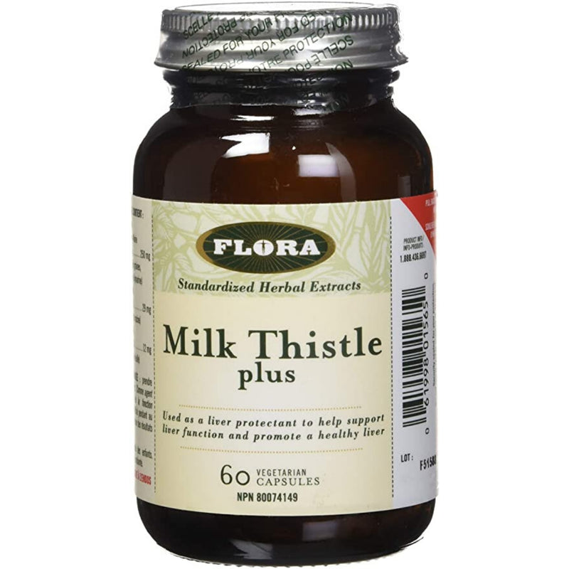 Flora Milk Thistle Plus 60 vcaps