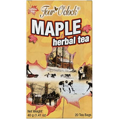 Four O'Clock Maple Herbal Tea - 20 Tea Bags