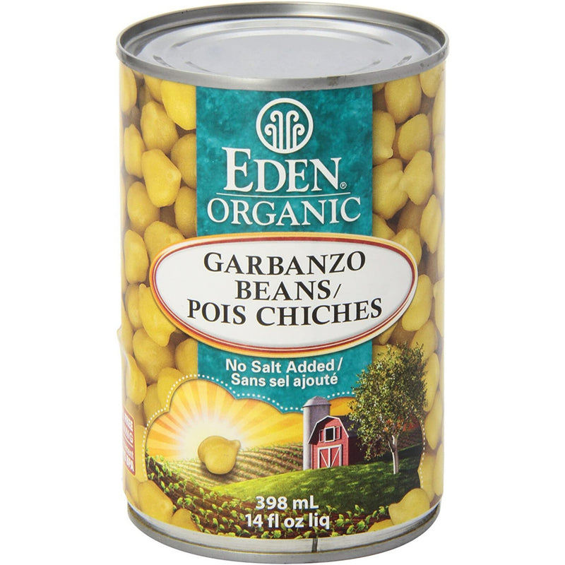 Eden Organic Garbanzo Beans 398ml