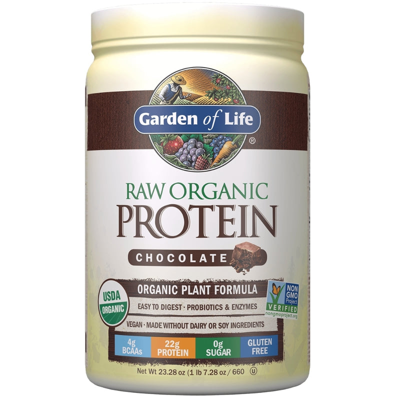 Garden of Life Raw Organic Protein Chocolate 660g