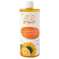 Green Beaver Zesty Orange All Purpose Castile Soap 990ml