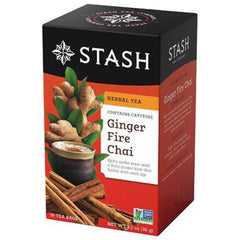 Stash Ginger Fire Chai 18 Tea Bags