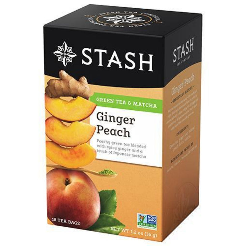 Stash Ginger Peach 18 Tea Bags