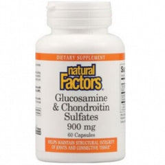 Natural Factors Glucosamine & Chondroïtine 900mg 60caps