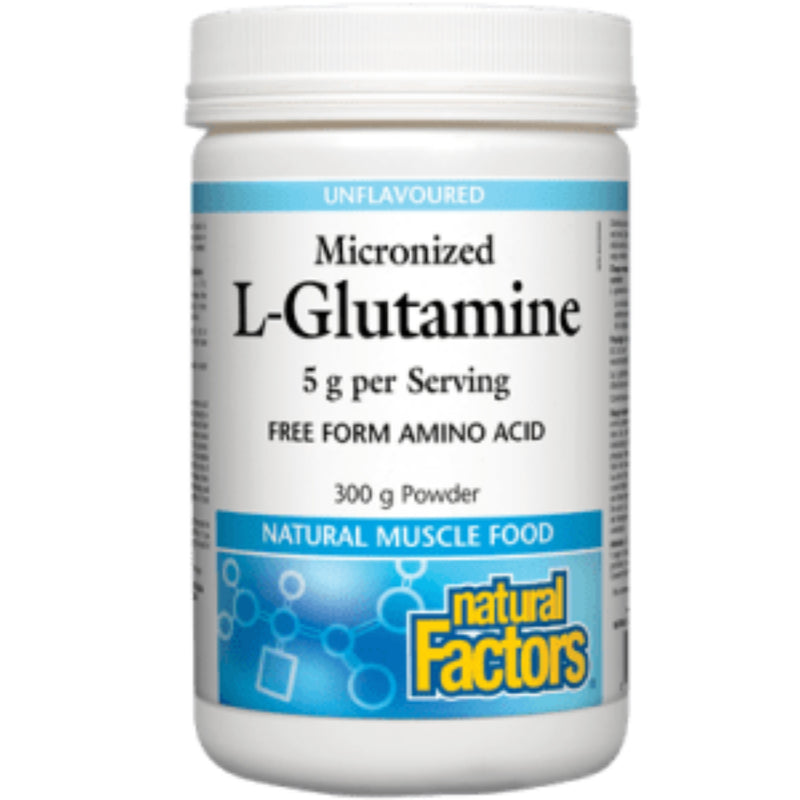 Natural Factors L-Glutamine Micronized Powder  300g