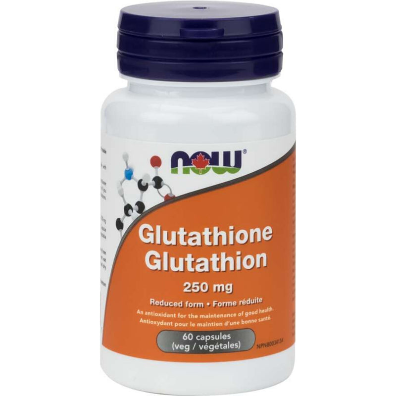 Now Glutathione 250mg 60 caps