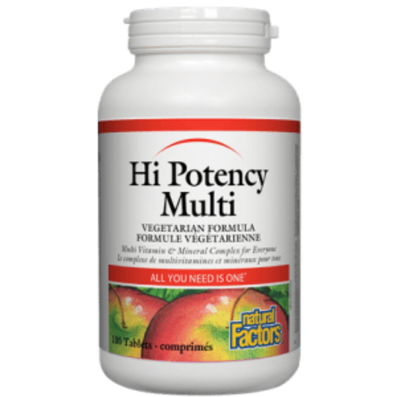 Natural Factors Hi Potency Multi 90t