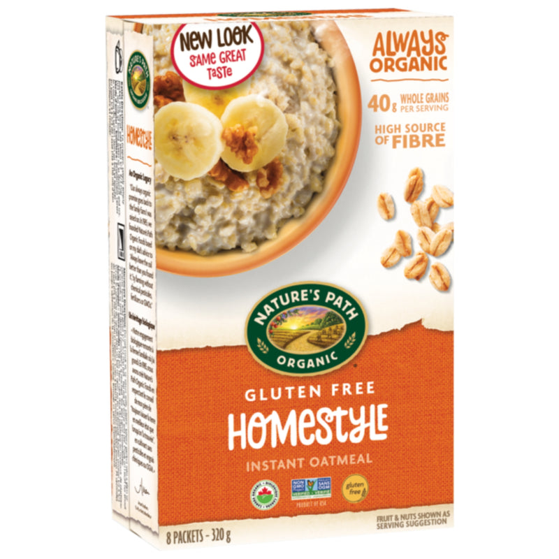 Nature's Path Organic Homestyle Instant Oatmeal 320g