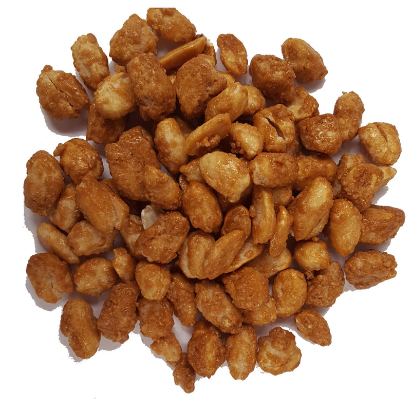 Bulk Honey Roasted Peanuts $/100g