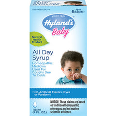 Hyland's Baby All Day Syrup 118ml