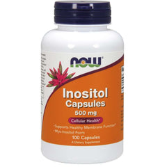 Now Inositol 500mg 100 caps