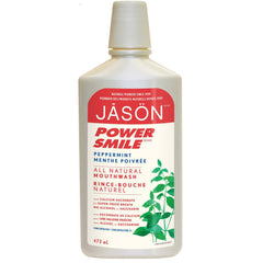 Jason Power Smile Peppermint Mouthwash 473ml