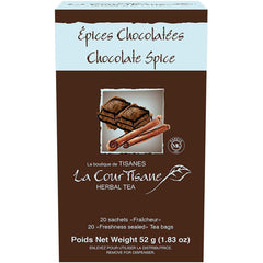 La CourTisane Chocolate Spice 20 Tea Bags