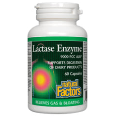 Natural Factors Lactase Enzyme  60c