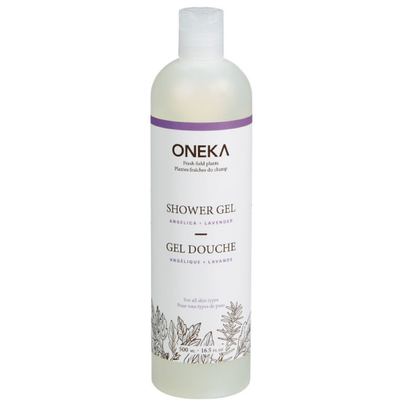 Oneka Angelica & Lavender Shower Gel 500ml