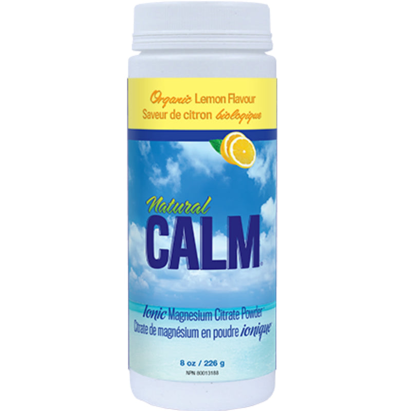 Natural Calm Organic Lemon Magnesium Citrate 226g