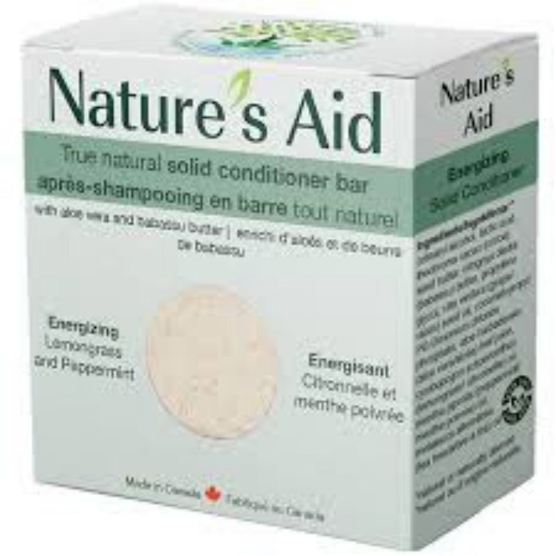 Nature's Aid Lemongrass & Peppermint Conditioner Bar