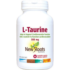 New Roots L-Taurine 500mg 90vcaps