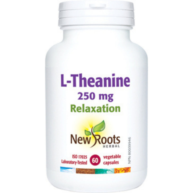 New Roots L-Theanine 60 vcaps
