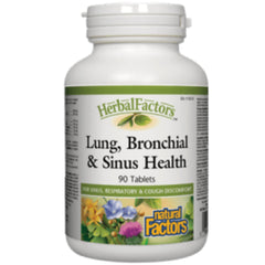 Natural Factors Lung Bronchial Sinus Health  90T