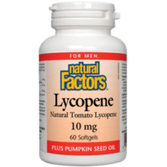 Natural Factors Lycopene 10mg 60sgels