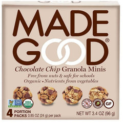 Made Good Chocolate Chip Granola Minis 96g