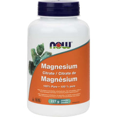 Now Magnesium Citrate Powder 227g