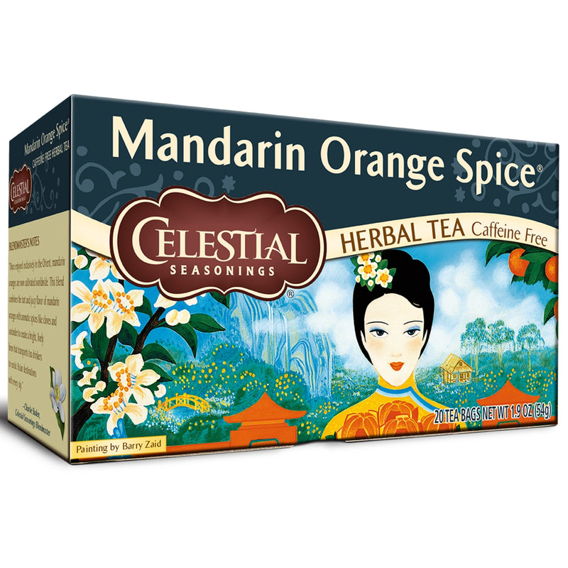 Celestial Seasonings Mandarin Orange Spice 20 Tea Bags