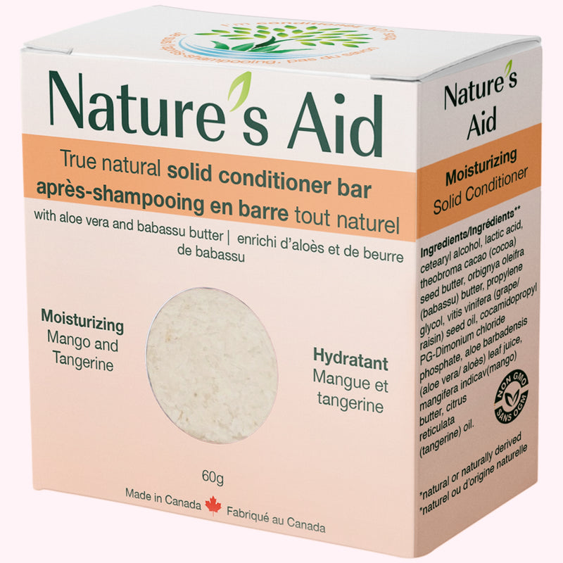 Nature's Aid Mango & Tangerine Conditioner Bar