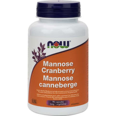 Now Mannose Canneberge 90caps